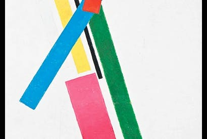 'Suprematistic Construction of Colours', 1928–29, by Kazimir Malevich