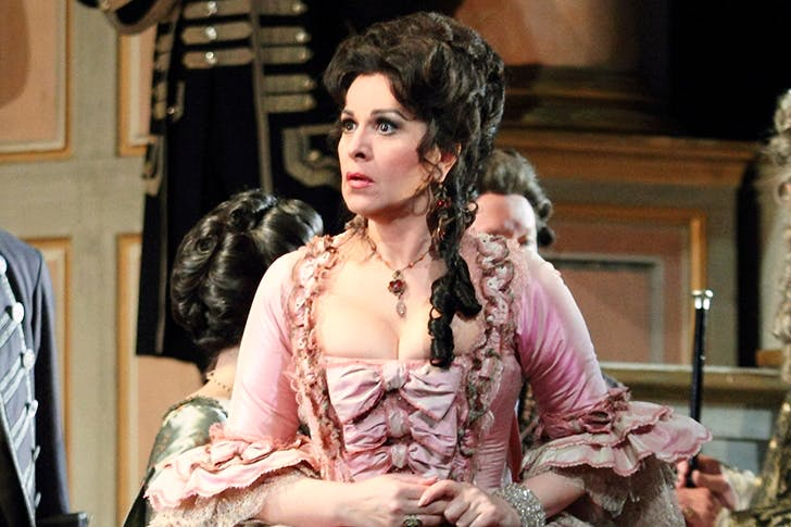 Doing a disservice to a lovely opera: Angela Gheorghiu as Adriana Lecouvreur