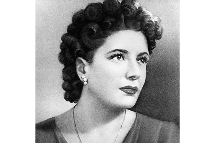 The star-struck Claretta, Mussolini's last love. According to her diaries, he radiated a 'god-like potency' and a 'bull-like' magnetism