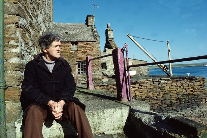 George Mackay Brown appears part-inspiration forAnnalena McAfee's fictional poet Grigor McWatt