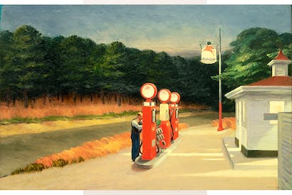 'Gas', 1940, by Edward Hopper
