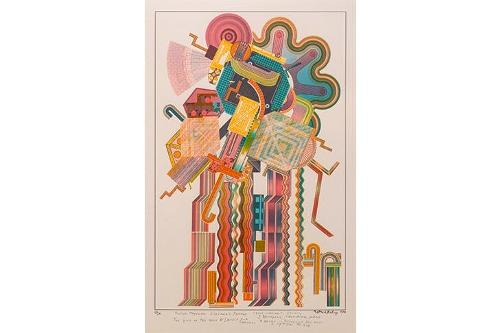 'Allegro Moderato Fireman's Parade' (from the Calcium of Light portfolio), 1974–76, by Eduardo Paolozzi