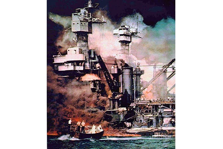 Attack on Pearl Harbor, 7 December 1941