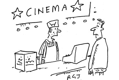 'We're currently showing a selection of award-winning movies, plus some films you might actually want to see.'