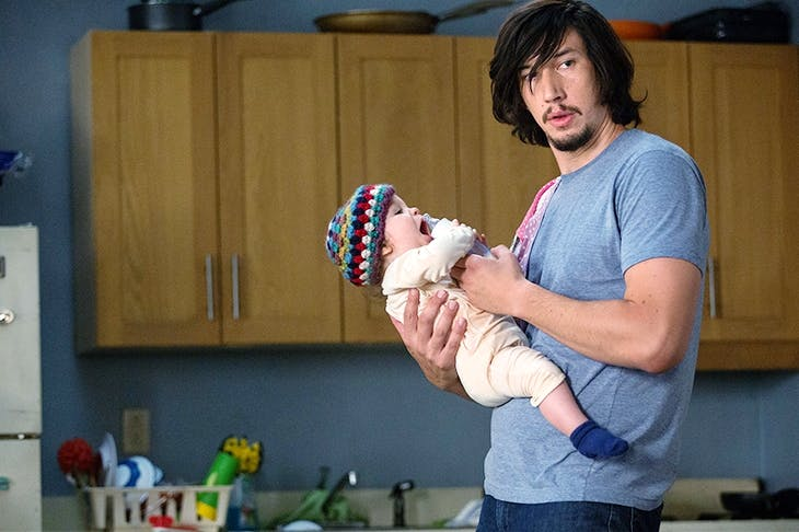 Adam Driver as Adam Sackler, the most unsparingly but sensitively drawn modern male to grace the small screen this decade