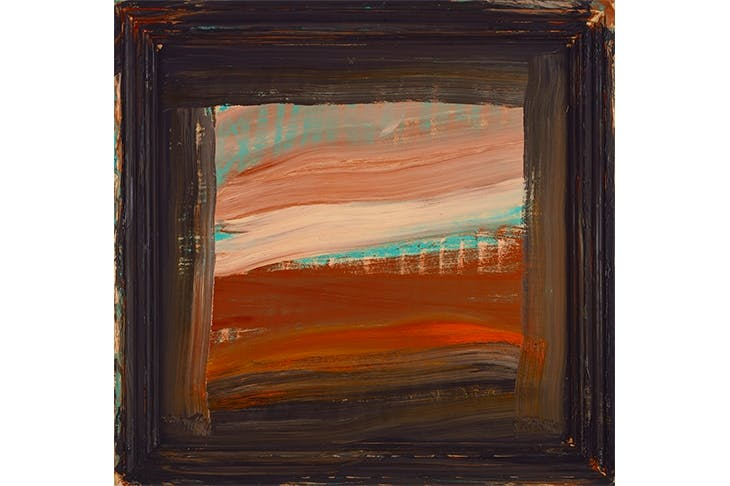 'Absent Friends', 2000–1, by Howard Hodgkin