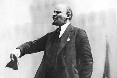 Lenin centre stage — as the great self-promoter