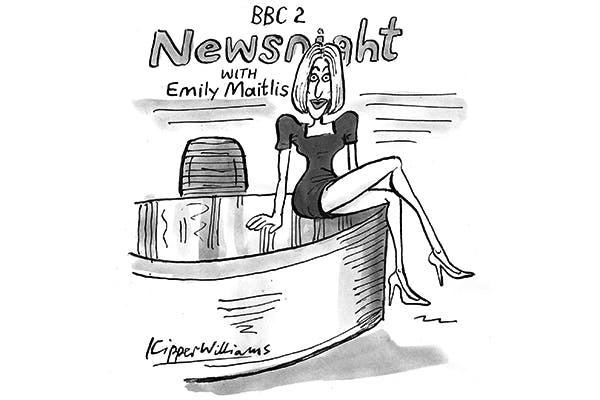 """'Coming up on Newsnight — how sexist was """"Legs-it""""?'"""