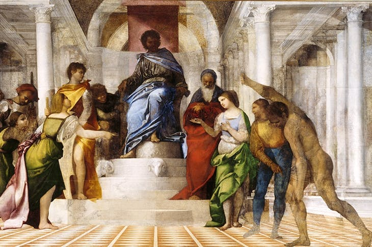 'The Judgment of Solomon', c.1506–9, by Sebastiano del Piombo. © National Trust Images/Derrick E. Witty