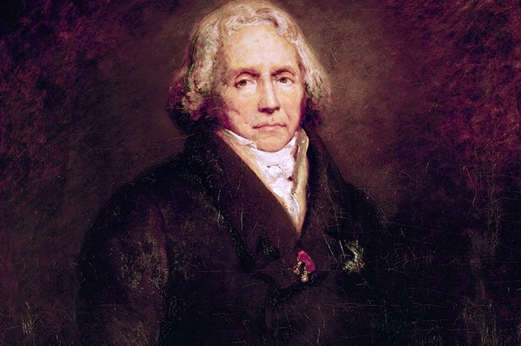 Portrait of Talleyrand by Ary Scheffer