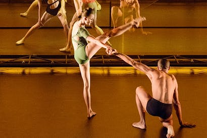 The mechanicals: the dancers in Wayne McGregor's 'Tree of Codes' interlock but they never really interact and we are left humming the scenery.
