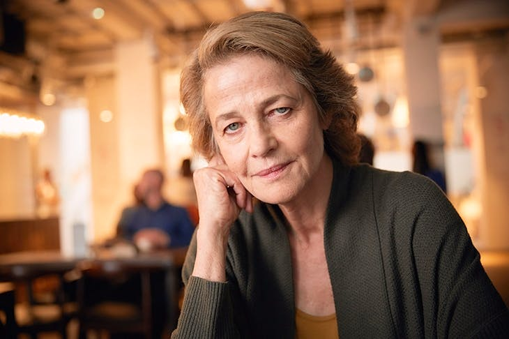 We love, love, love her: Charlotte Rampling as Veronica in 'The Sense of an Ending'