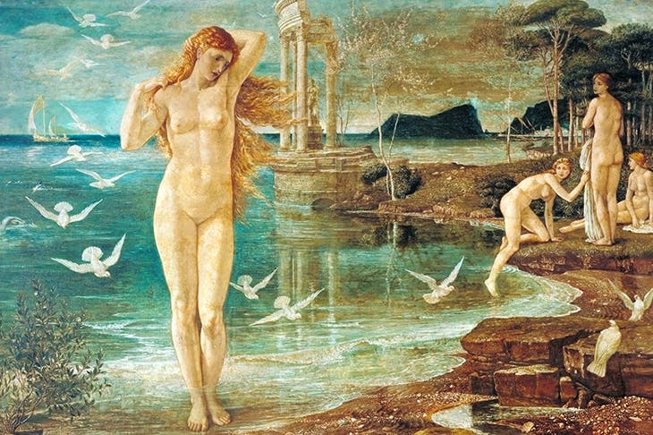 Frankly dreadful: 'The Renaissance of Venus', 1877, by Walter Crane