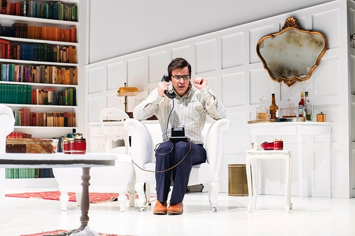 Adorably twerpish: Simon Bird as Philip in 'The Philanthropist'