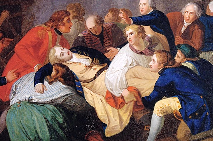 'The Death of Lord Robert Manners' by Thomas Stothard