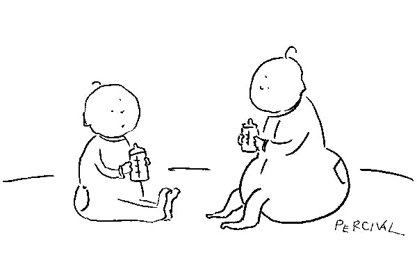'You can really hold your drink.'