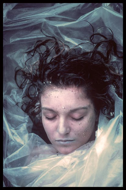 'She's dead – wrapped in plastic': Sheryl Lee as Laura Palmer in Twin Peaks