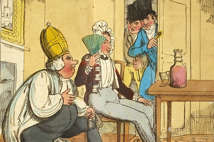 In a notorious case of 1822, the Bishop of Clogher was discovered soliciting the soldier John Moverley in the White Lion public house, off the Haymarket. The bishop was deprived of his see, skipped bail, fled to France and ended up living incognito in Edinburgh until his death in 1843