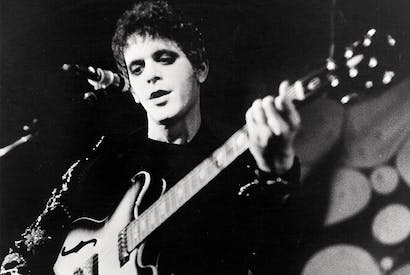 Lou Reed takes a walk on the wild side in 1972