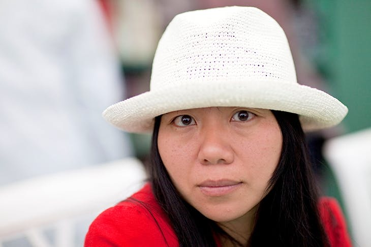 Novelist and filmmaker Xiaolu Guo attends the Hay Festival on May 29, 2011 in Hay-on-Wye, Wales. (Photo by David Levenson/Getty Images)