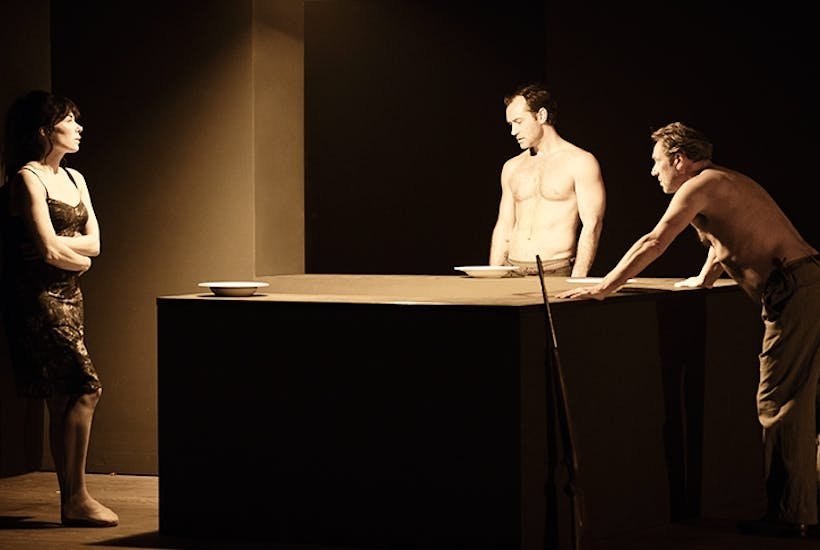 Simpering windbags and self-pitying egoists: Halina Reijn, Jude Law and Gijs Scholten van Aschat in Obsession