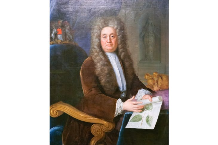 Portrait of Hans Sloane by Stephen Slaughter (1736)