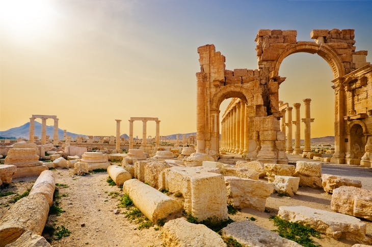 Palmyra was one of the ancient world's great entrepots, trading in myrrh, incense, ivory, pearls and silk