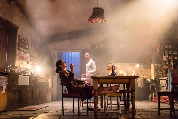 Honey-glazed rural whimsy: Laura Donnelly (Caitlin) and Paddy Considine (Quinn) in Jez Butterworth's The Ferryman