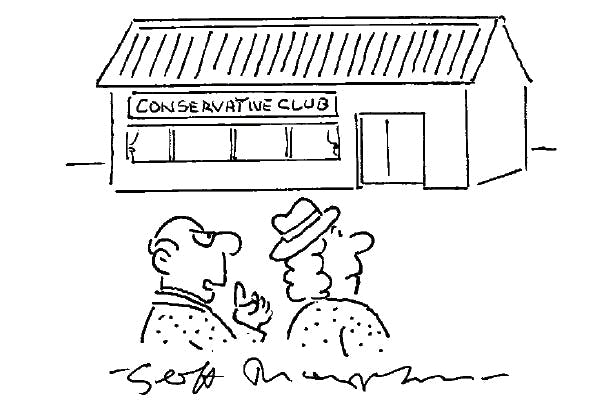 '…or as it's known locally, the plotting shed.'