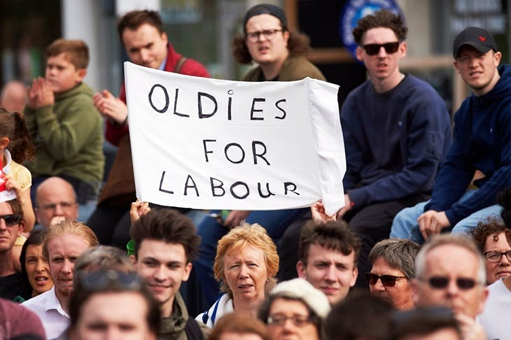 Politics has become divided by age (image: Getty)