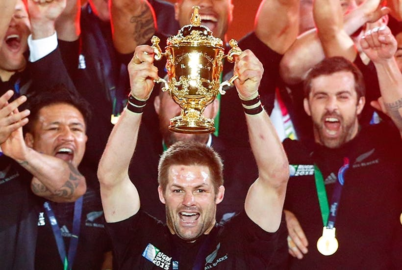 Crowning glory: McCaw at Twickenham in 2015