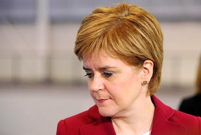 The SNP leader has been rebuked by voters (image: Getty)