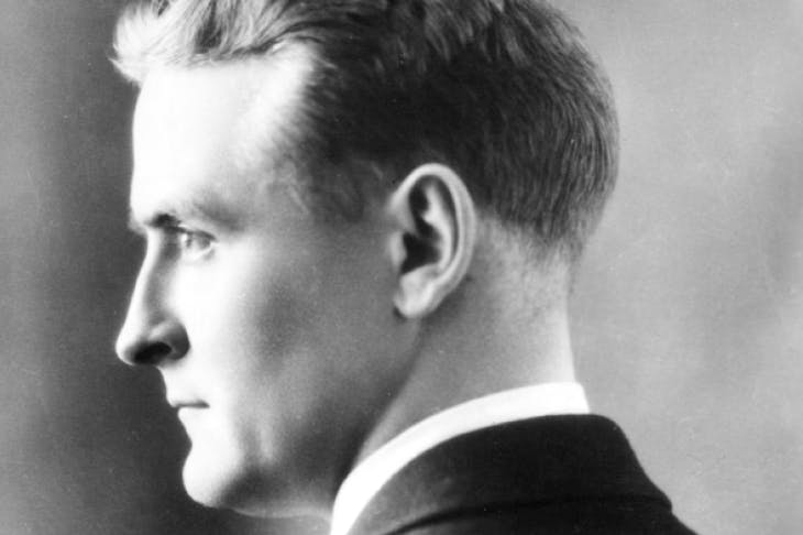 Regretful nostalgia: F. Scott Fitzgerald in 1925