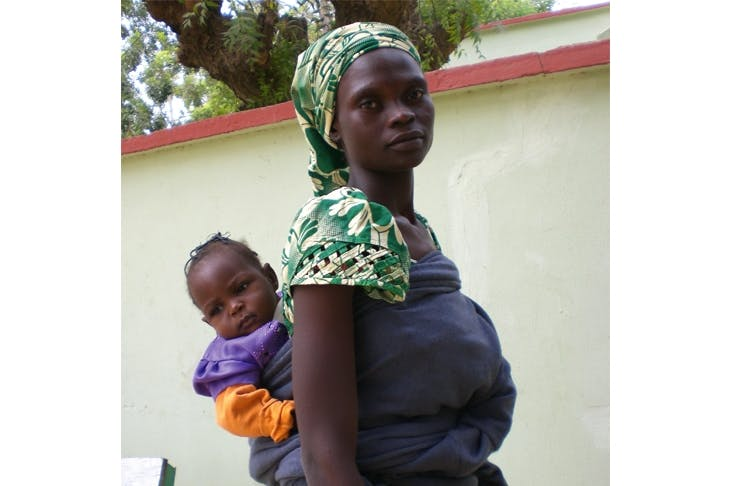 The Gift of Patience: the pair reach safety in Maiduguri