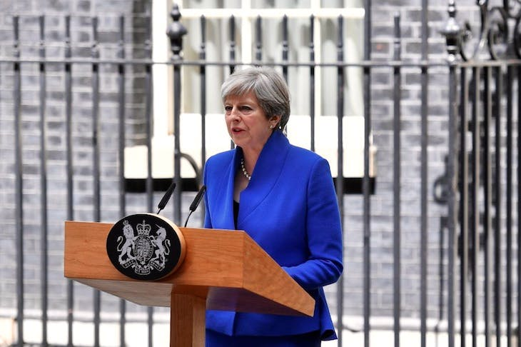 Theresa May's gamble has ended in calamity (image: Getty)