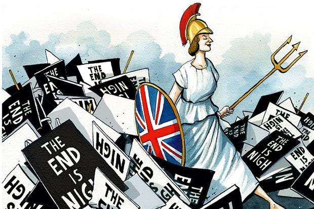 The myth of Britain's decline | The Spectator