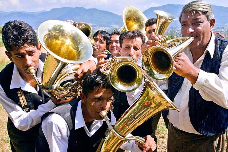 Festival time, Serbian style: playing the trumpet in Guca