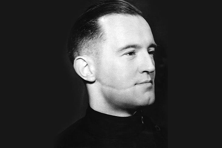 William Joyce — better known as Lord Haw-Haw: an ideological enthusiast for fascism