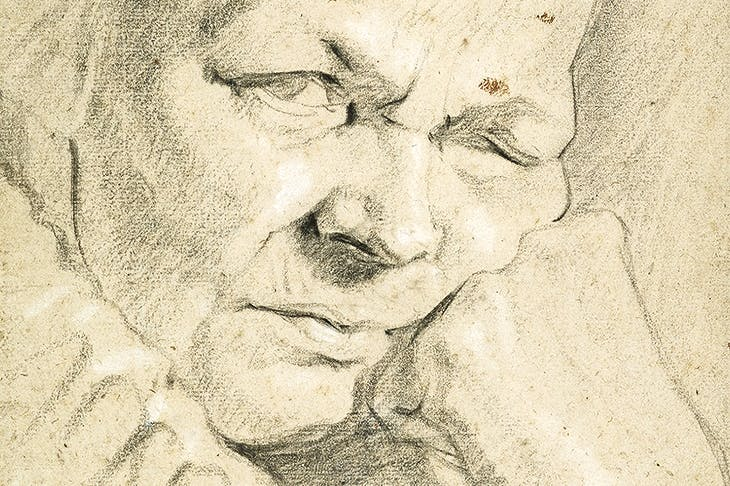 'Old Woman Wearing a Ruff and Cap' (c. 1625–40), attributed to Jacob Jordaens
