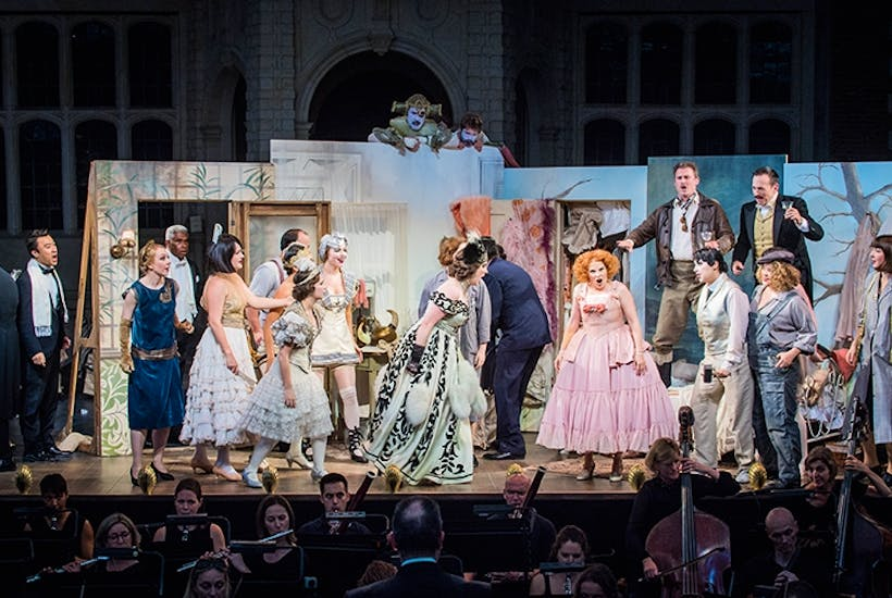A Fascinating Rediscovery Opera Holland Parks Zaza Reviewed The