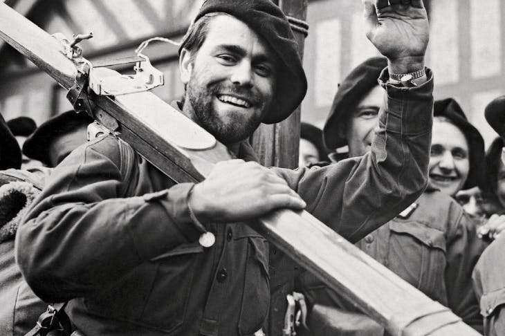 French Chasseurs d'Alpin en route to Norway, 1940