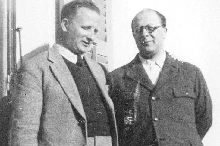 Nello and Carlo Rosselli, photograph from a family album