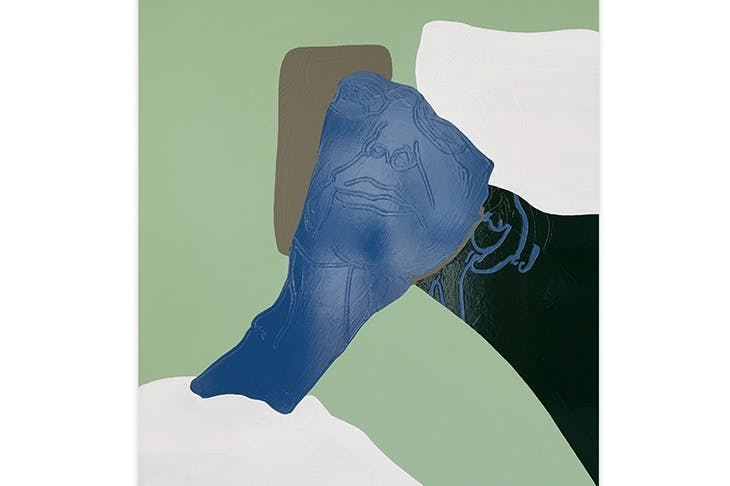 'Mum On The Couch', 2017, by Gary Hume