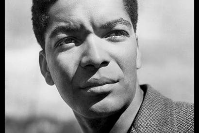 Earl Cameron in 1952, one of the first black actors to break the British 'colour bar'