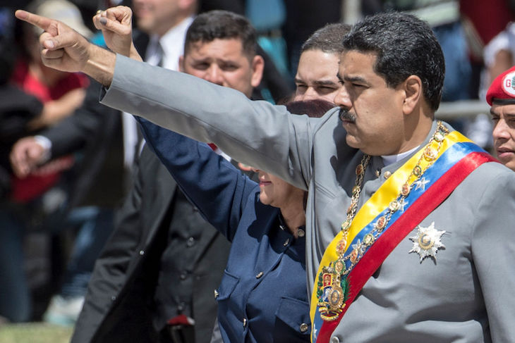 Argentine soccer legend Maradona says he is a 'soldier' for Venezuela's Maduro