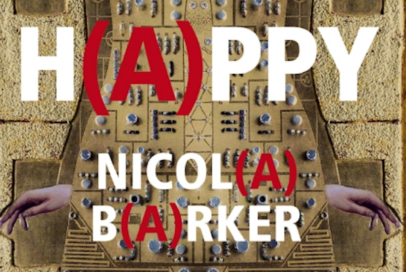 Read Nicola Barker's H(A)PPY to the guitar music of Agustin