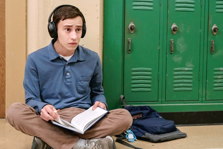 Autistic endeavour: Keir Gilchrist as Sam in Atypical