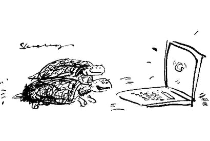 'I don't know, it seems to be loading pretty fast to me...'