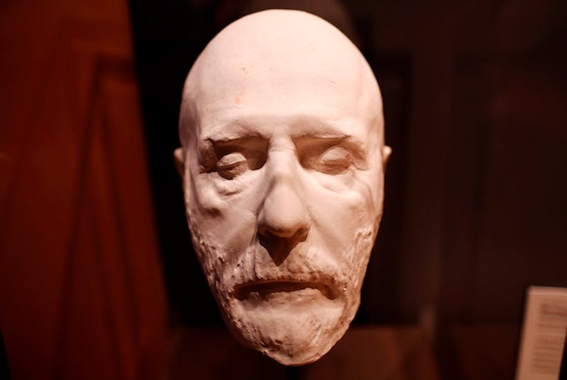 Reviving the death mask   The Spectator