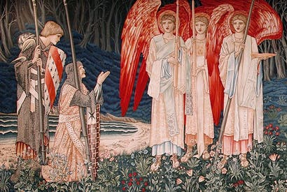 Woven thread: a 19th-century Arthurian tapestry